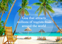Goa That Attracts Millions Of Tourists From Around The World