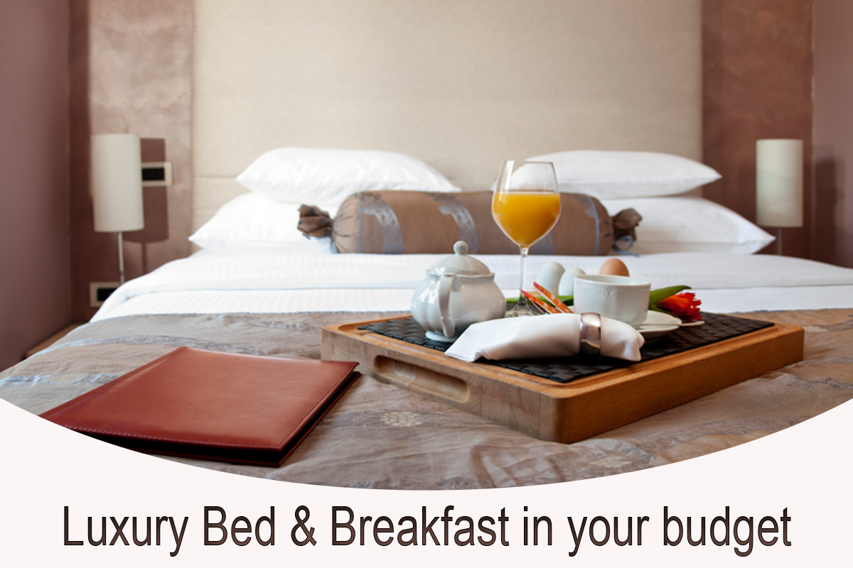Luxury bed breakfast in your budget trip experience blog for A bed and breakfast