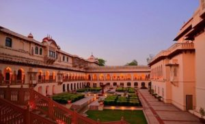 Jaipur Tourist places list - Rambagh Palace