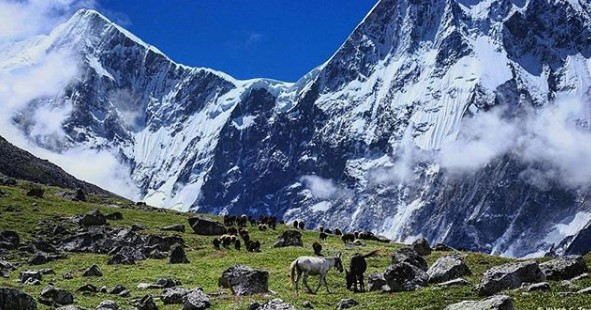 Trek the Himalayas, Bagini glacier trek