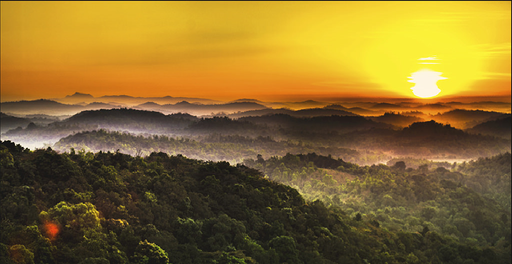 Sunset view point agumbe