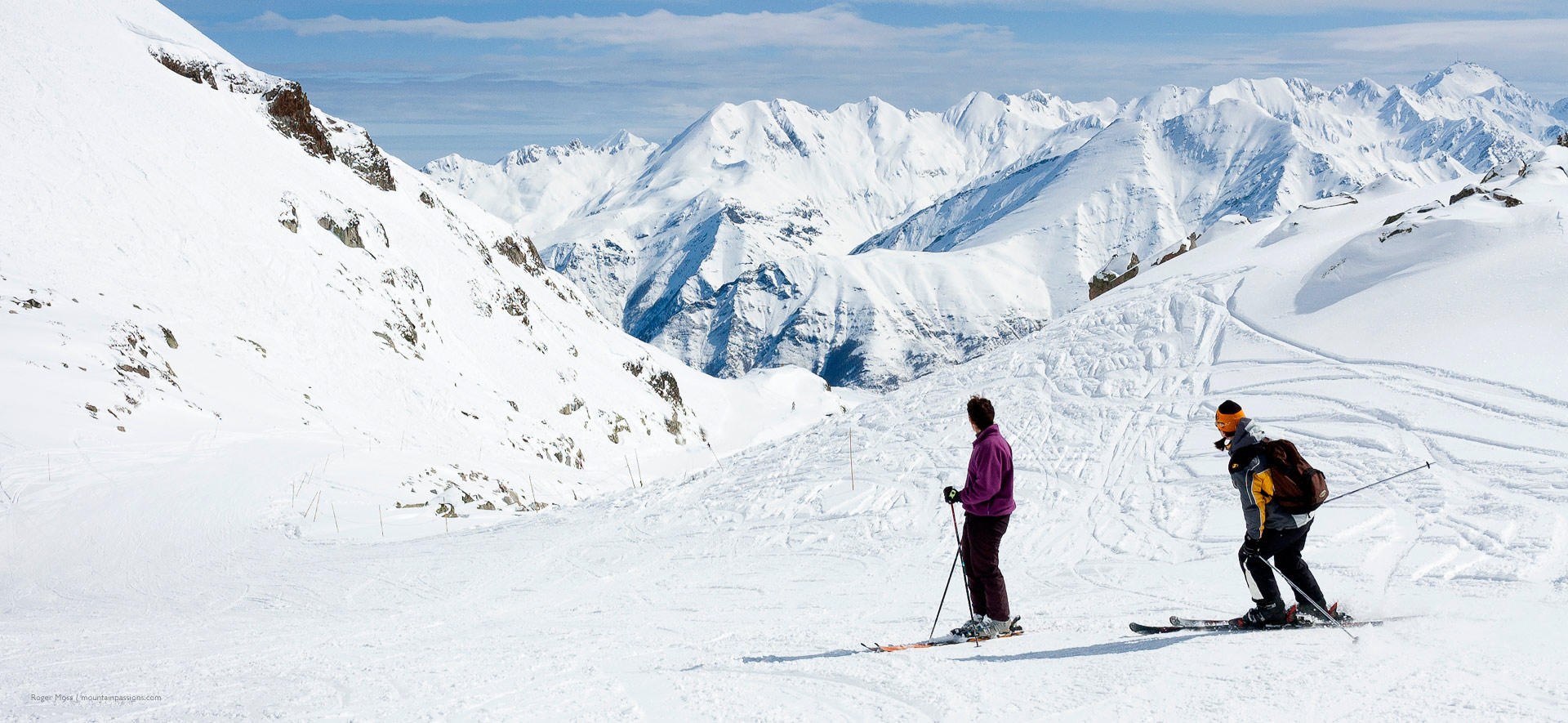 Rajat Khare Skiing in the French Pyrenees