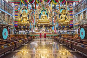 Golden temple of the South, Coorg