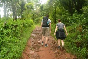 Hiking at Coorg