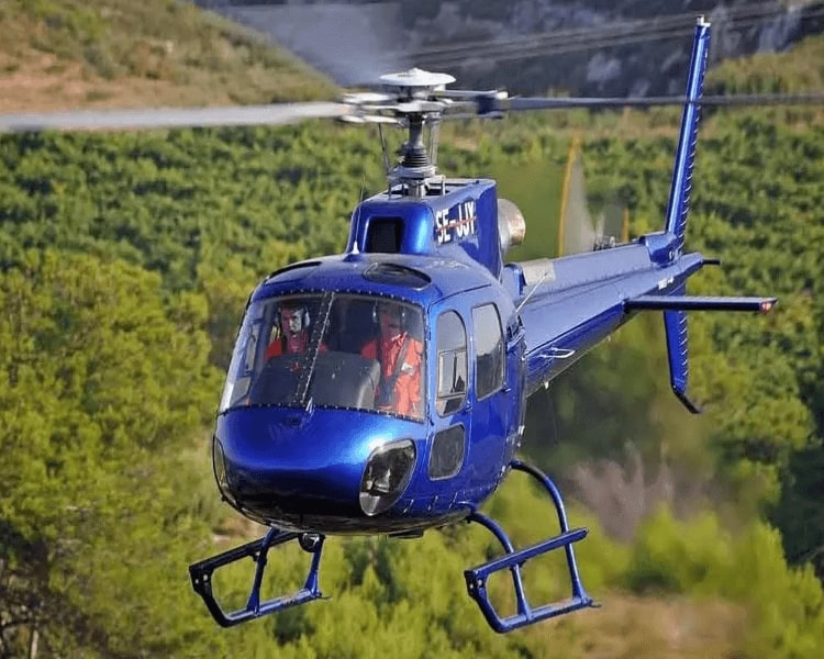 Telangana Tourism flags off helicopter services to Vemulawada