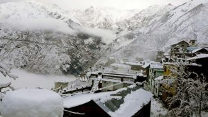 spiti snow valley in india