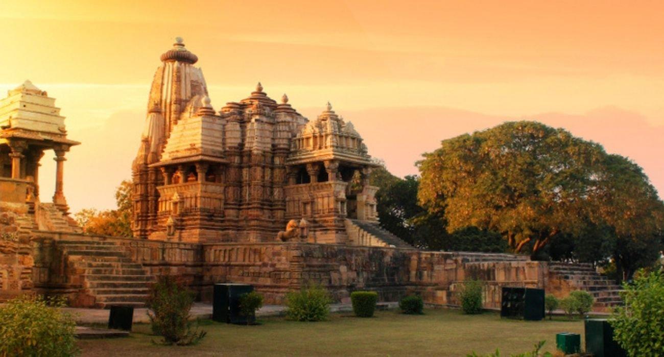 Khajuraho temple is a famous tourist place