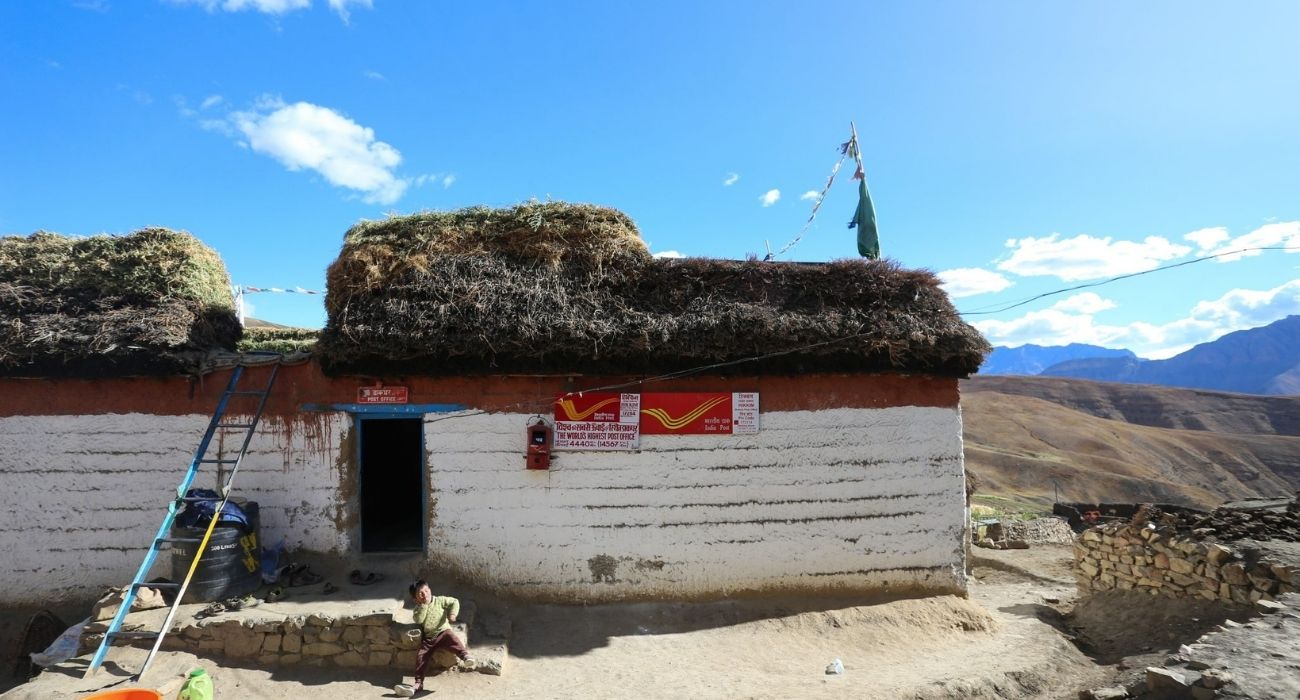 Highest post office in the world