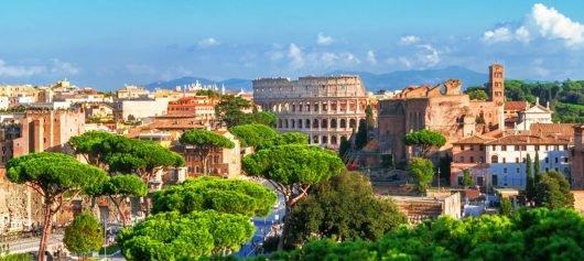 Virtual tour to rome